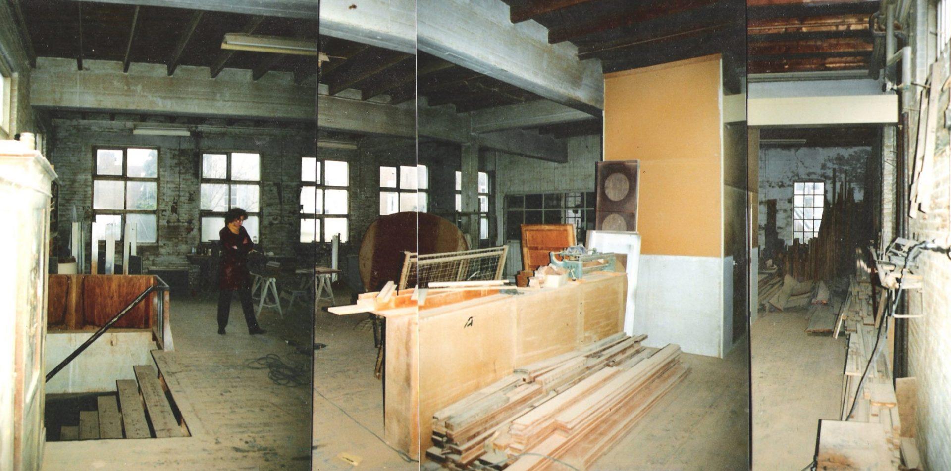 Herbestemming timmerfabriek woning